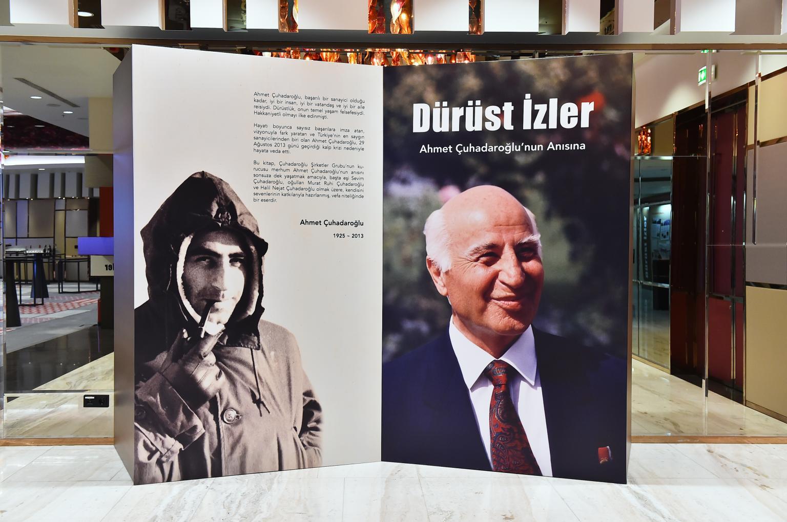 """Launch of """"Dürüst İzler"""" Book"""