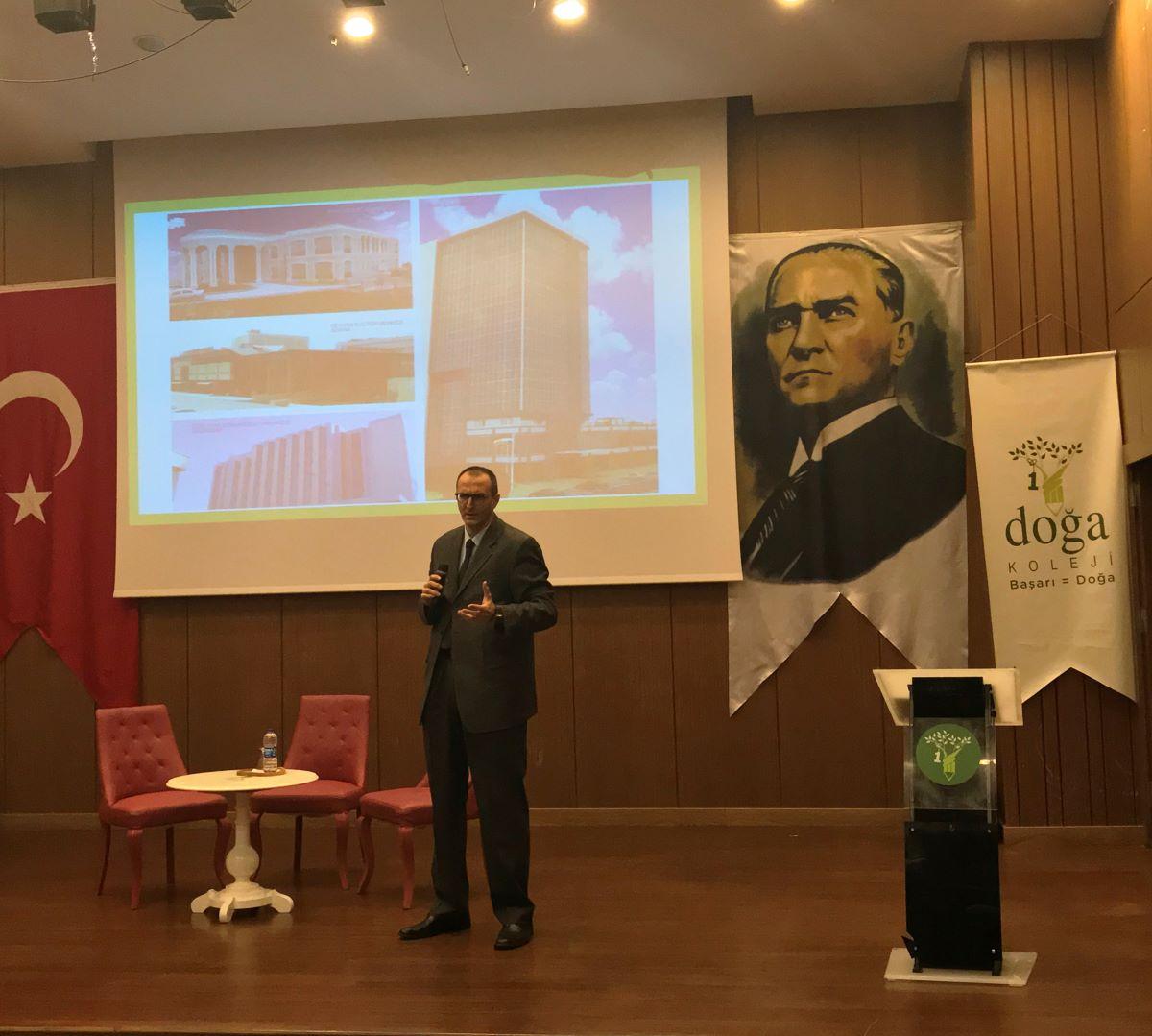 Symposium in Doğa Koleji Beykent Campus